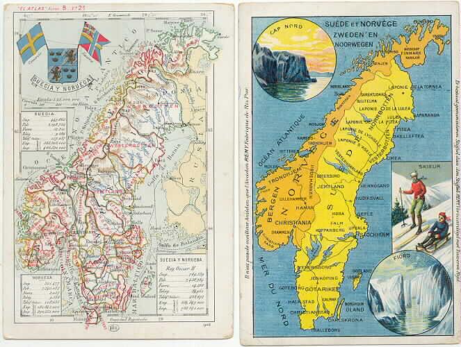 jernbane sverige kart Postkort jernbane sverige kart