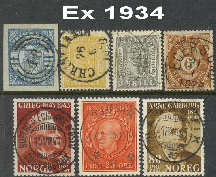 fortrykksalbum norske frimerker