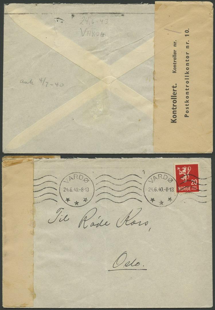 brev ekspress levering